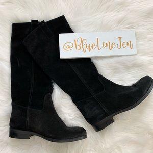 Cordani Benji Black Suede Knee High Boots Size 39